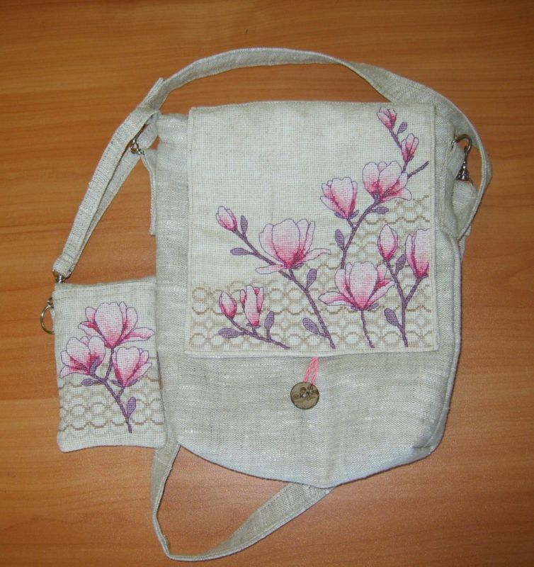 Белая сумочка своими руками