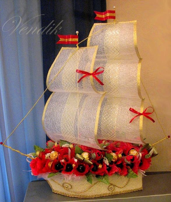 Фото 2805721. Свадебные букеты и композиции из конфет.. Фотоальбом участника Ирина Вендик