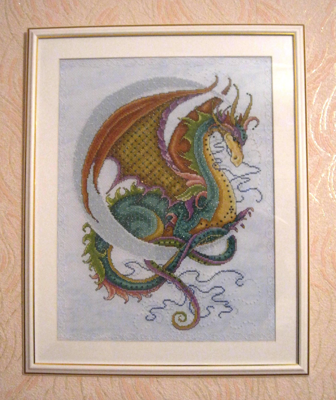 Как вышить дракона крестиком: обзор авторских схем: публикации 66