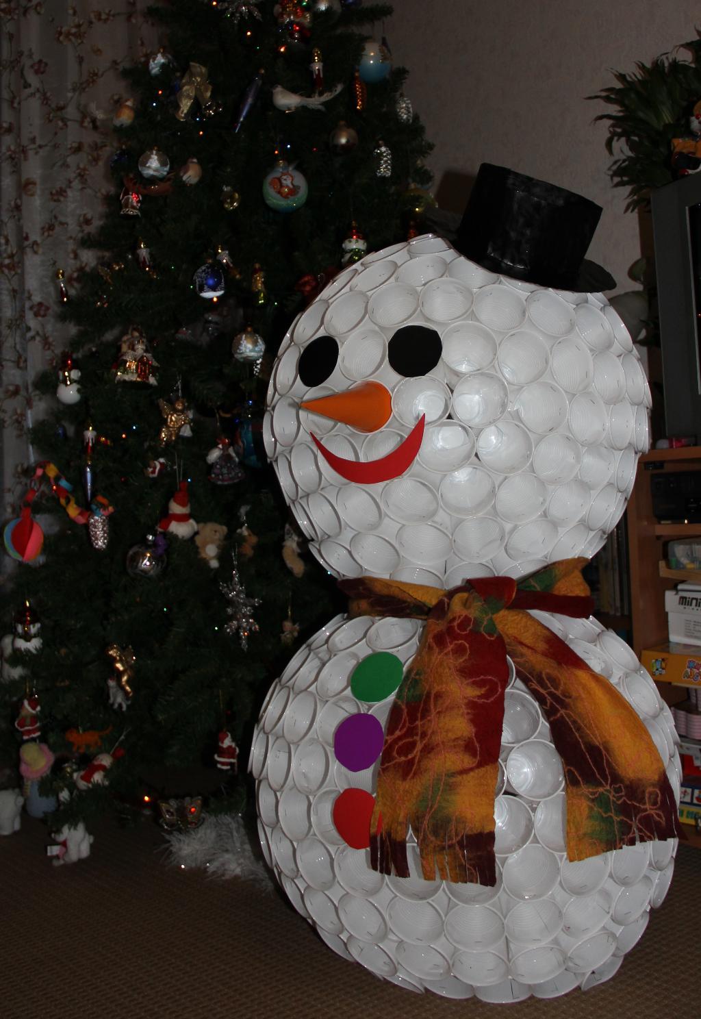 Поделки снеговики своими руками фото