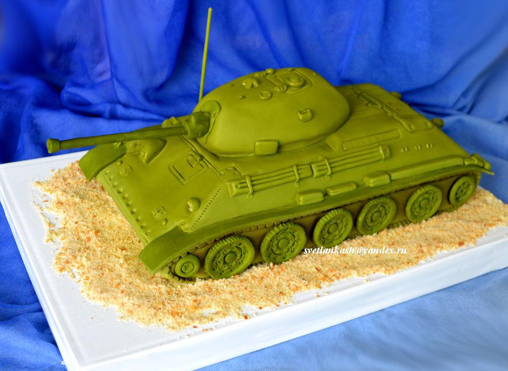 как сделать торт танк Санкт-Петербург