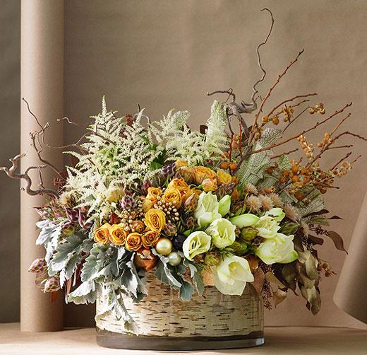 Композиции из цветов для дома своими руками