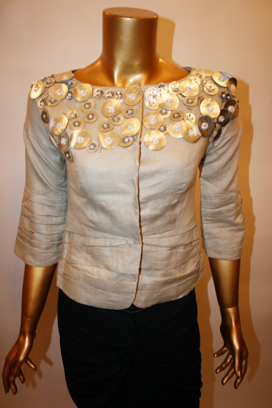 Декор блузок своими руками 200