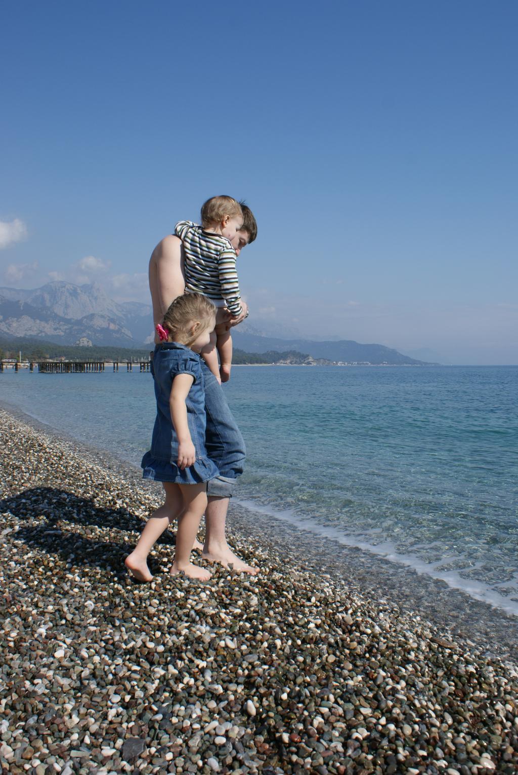первое знакомство с морем