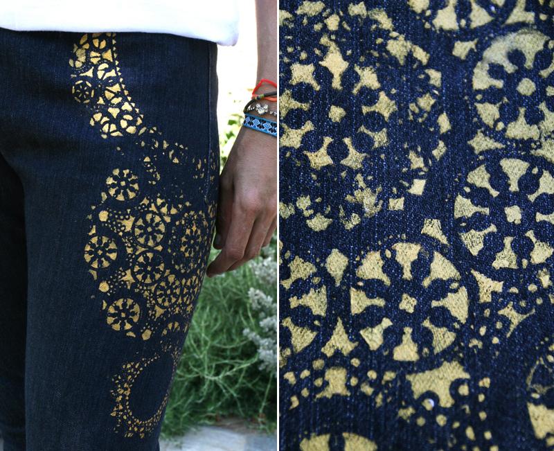 Как самой украсить джинсы - Russkij-Litra.ru