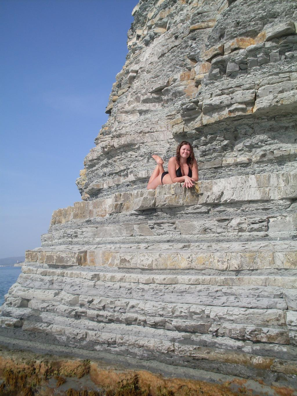 Фото на диком пляже геленджик