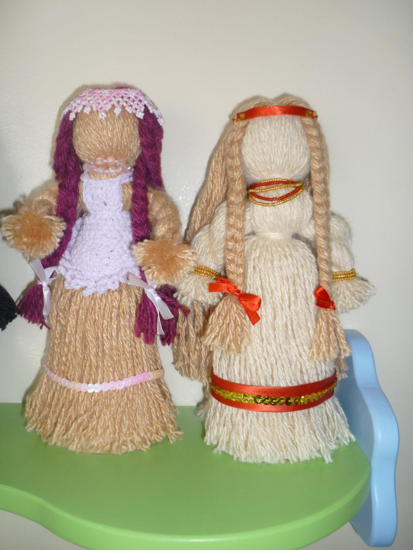 Куклы из нитей