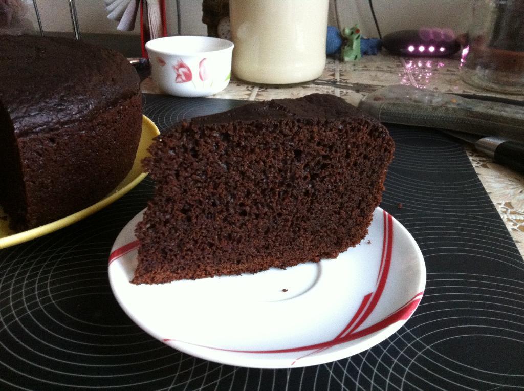 бисквит в мультиварке шоколад на кипятке