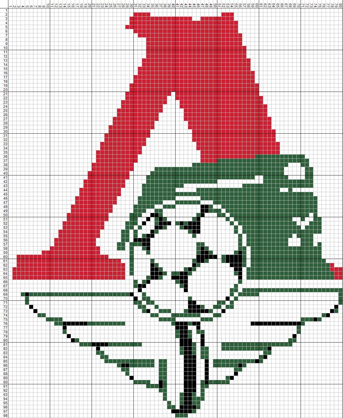 Схема для крючка логотипов