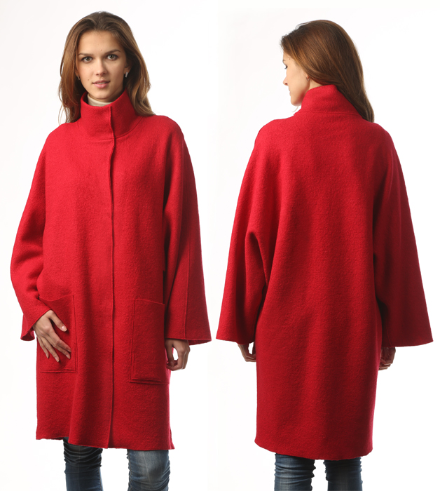 Пальто без ворота своими руками 97