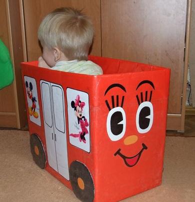 Елочная игрушка из коробки