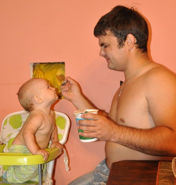 Трофи-лайф Кирилл дочь подсматривает за папой керамические электрические Подходит