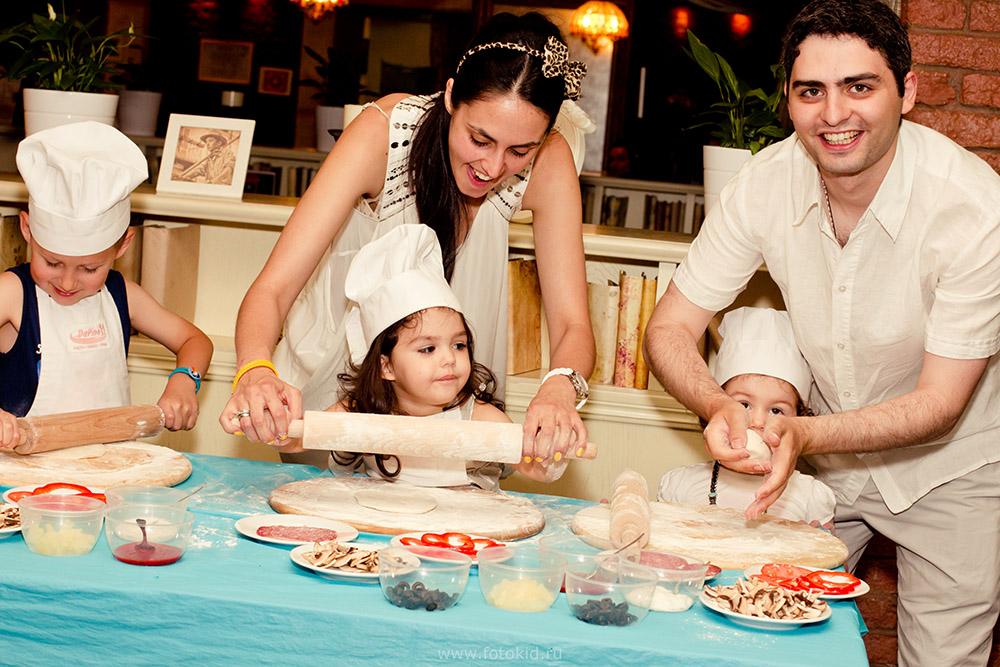 Семейные мастер классы по кулинарии