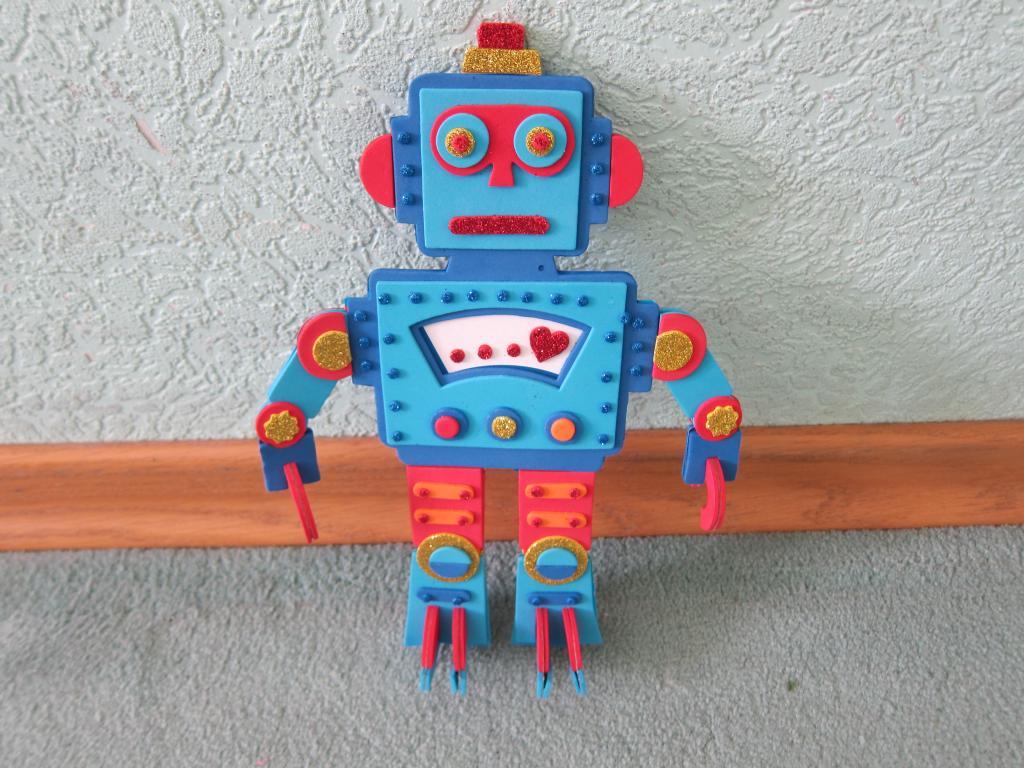 Поделка в школу робот