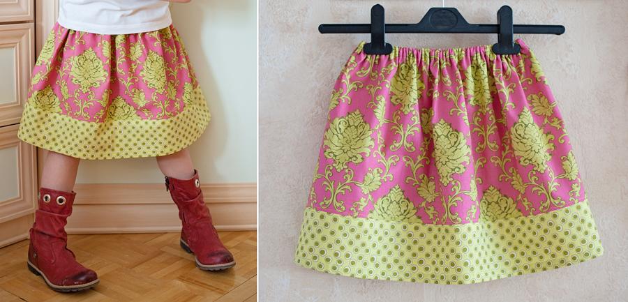 Как сшить юбку татьянка на резинке своими руками пошагово