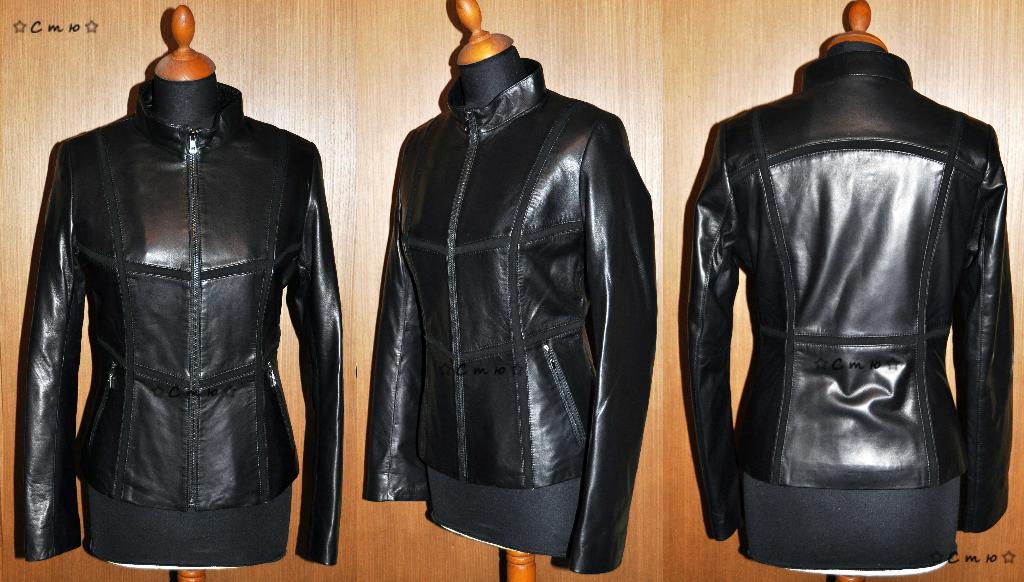 Женские Куртки Кожаные