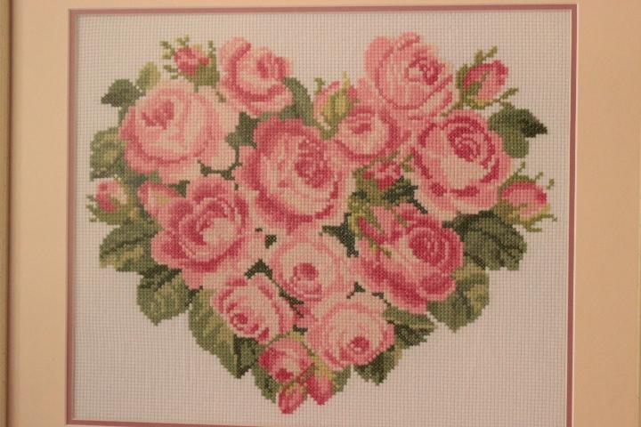 сердце из роз для Светланки). Оформленные