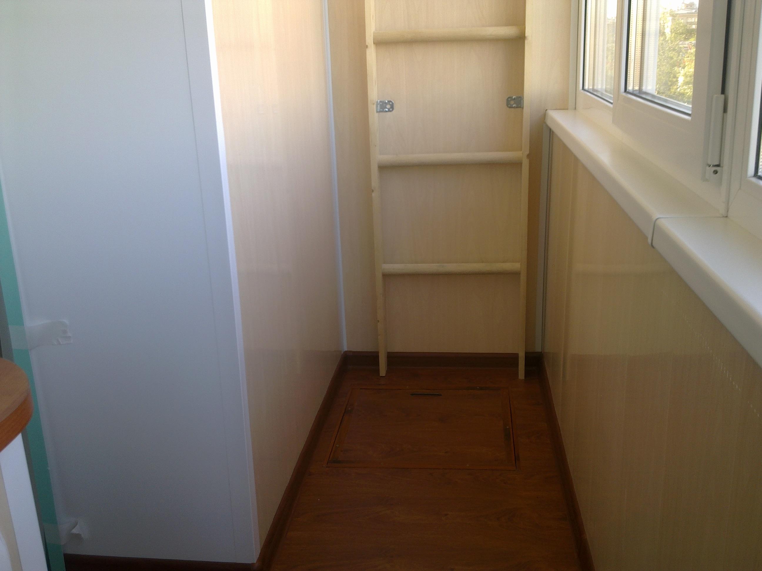 """Уютный балкон (остекление и обшивка) """"под ключ"""" - фото- фору."""