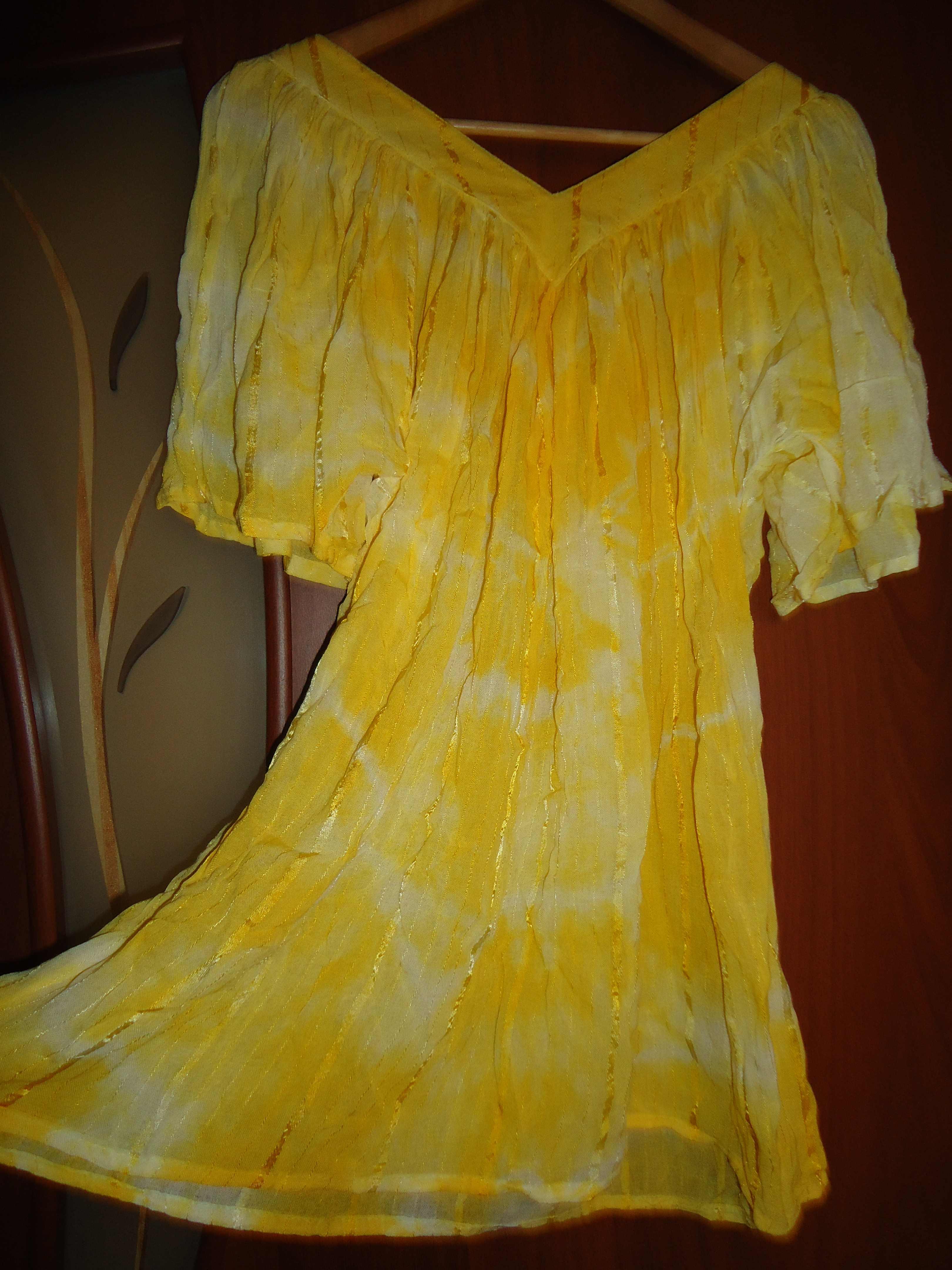 Что можно сшить из желтой ткани 39