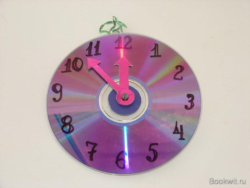 Часы своими руками идеи для детей 19