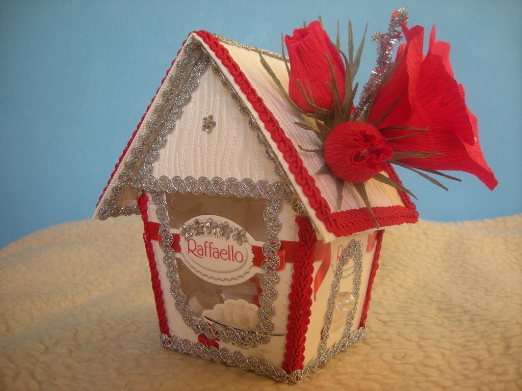 Подарок из коробок конфет 33