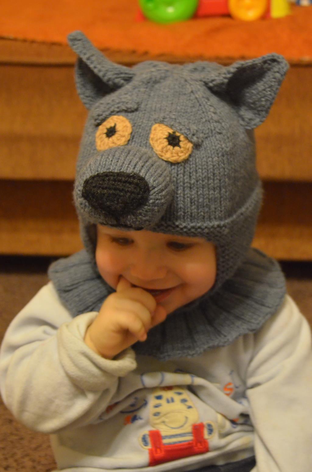 Детская шапка связать своими руками