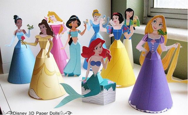 Поделки для кукол из бумаги