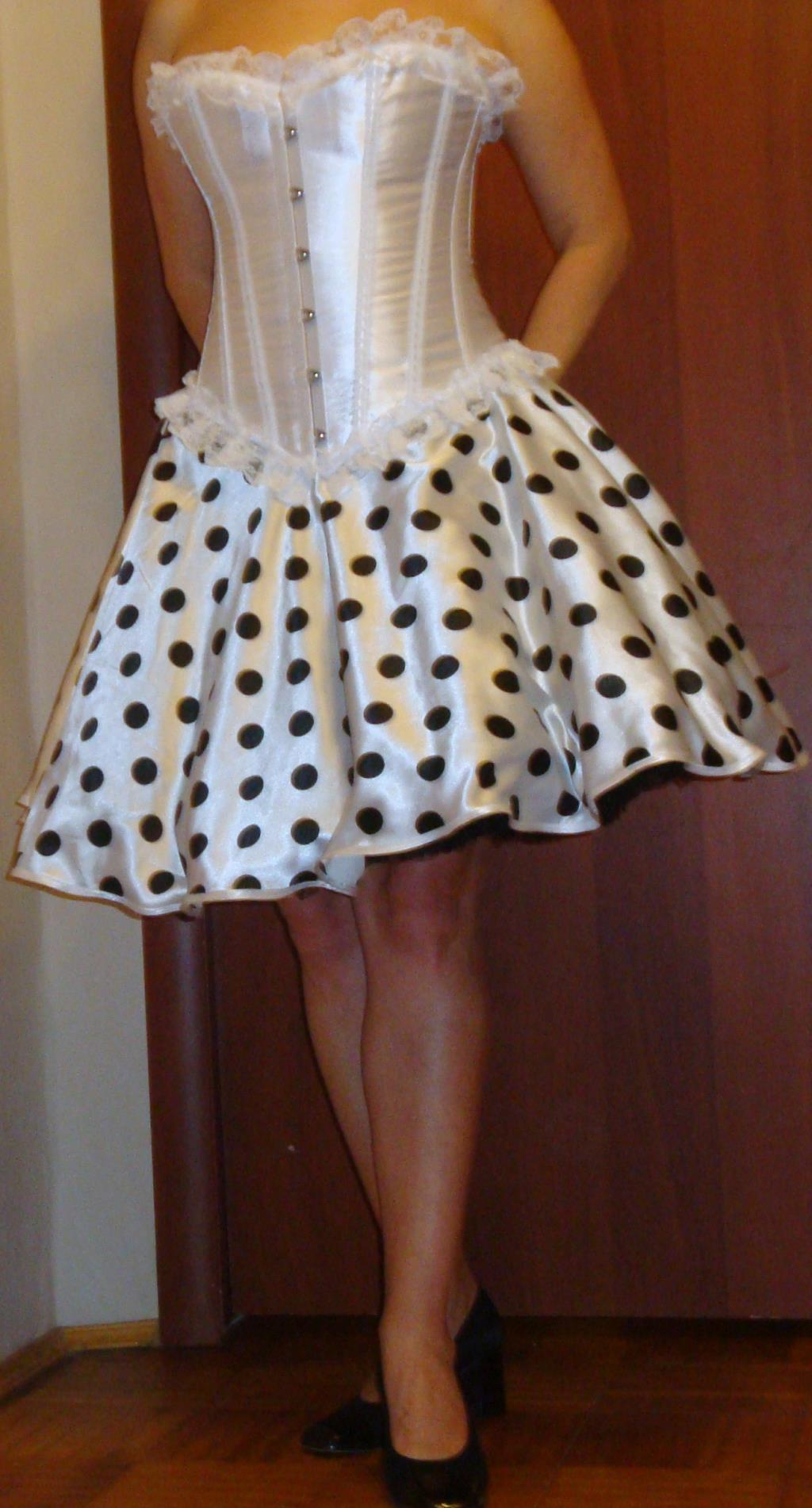 Платье Корсет И Юбка