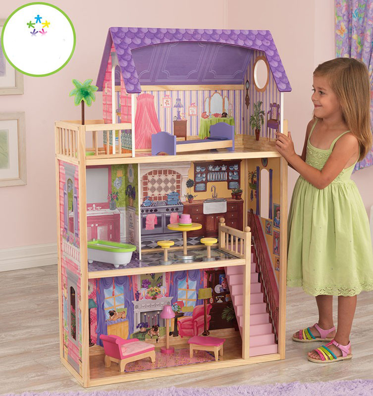 Фото домики для кукол своими руками