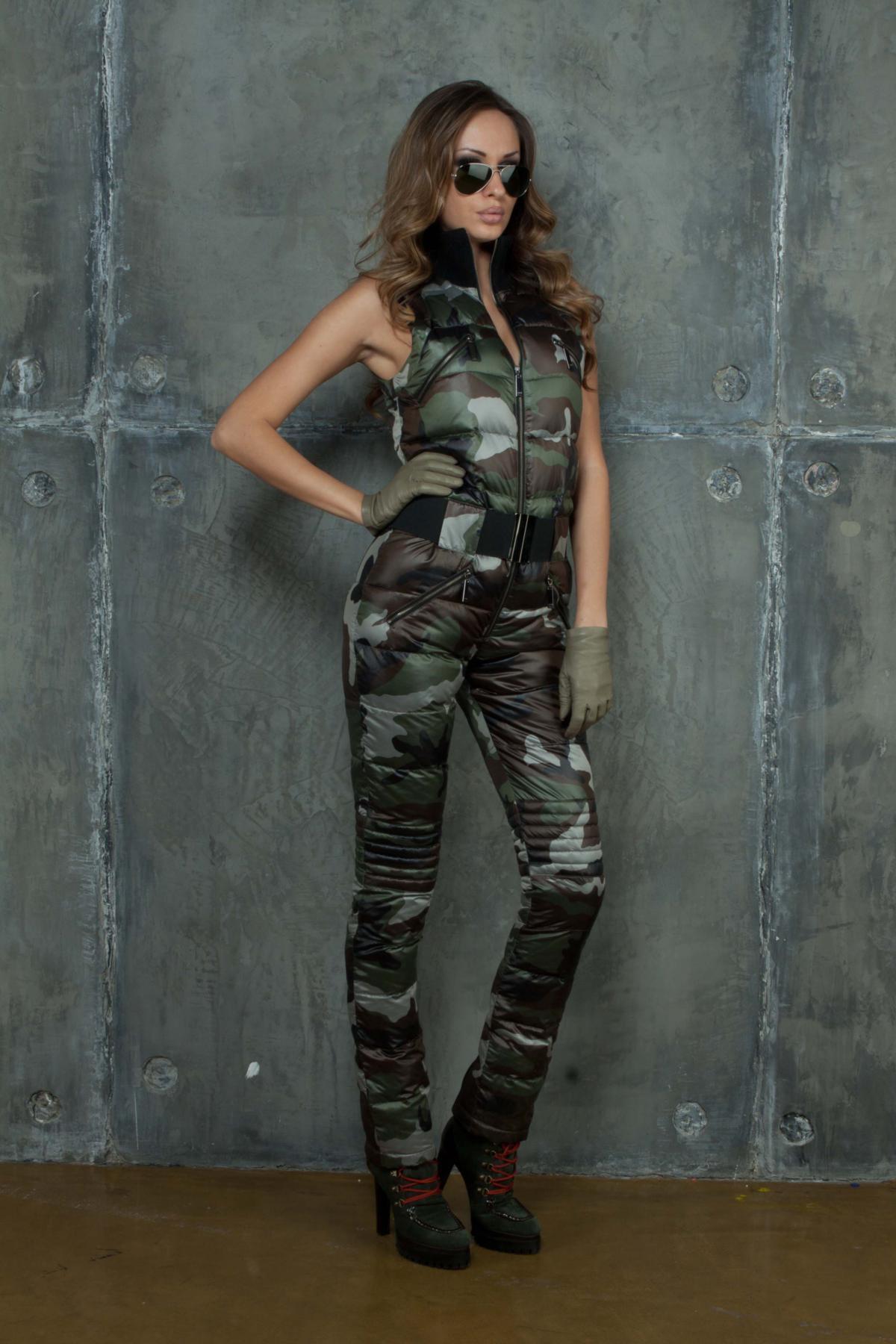 Купить Женская Одежда Милитари