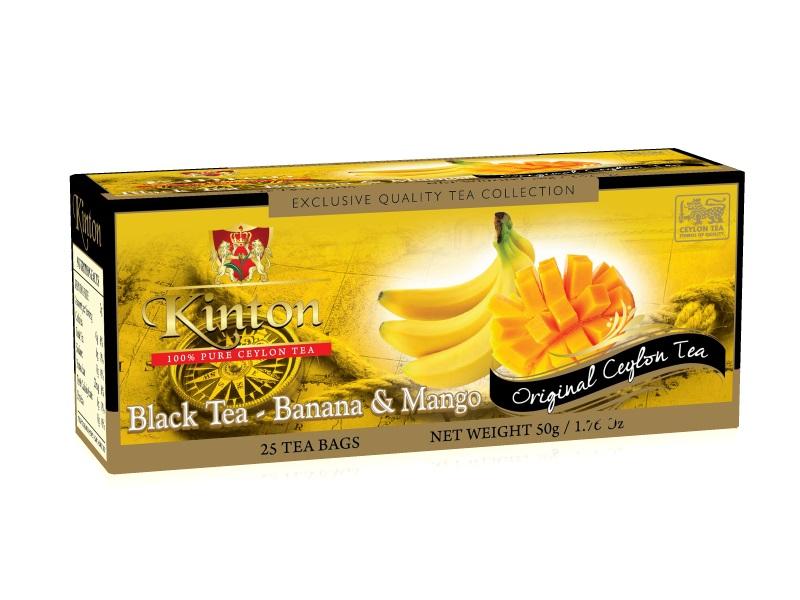 Чай банан и манго