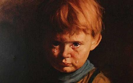Плачущий мальчик