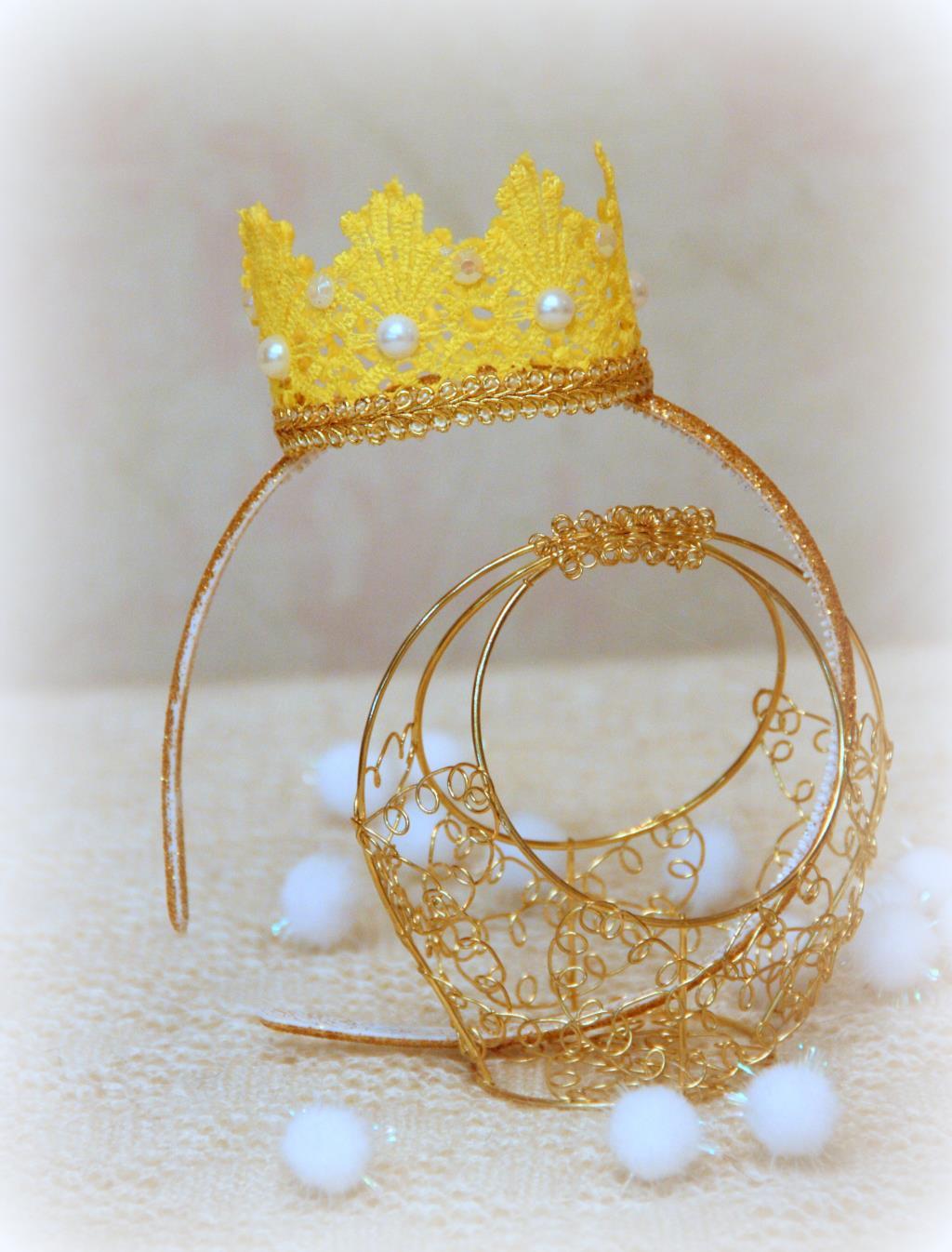 Сделать корону своими руками 44