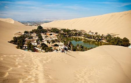 Уакачина пустыня Сечура