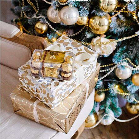 обмен нежеланных подарков c Ferrero Rocher