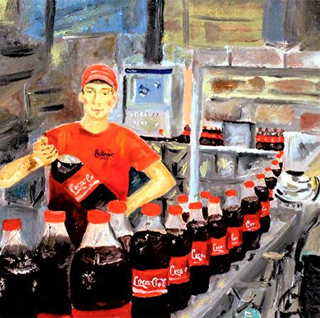 Coca-Cola на бесплатные экскурсии на завод