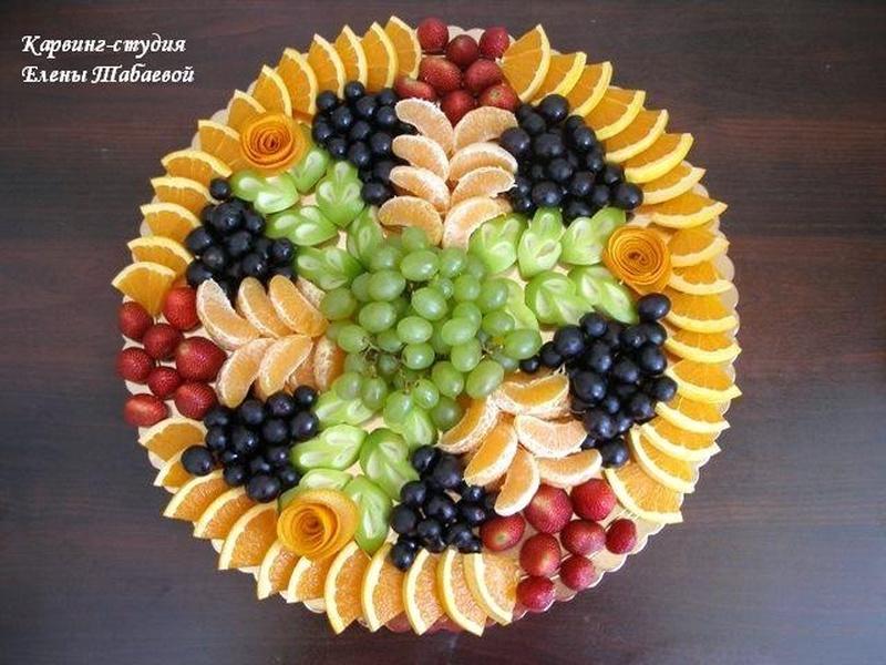 как красиво нарезать фрукты фото X-Static содержат