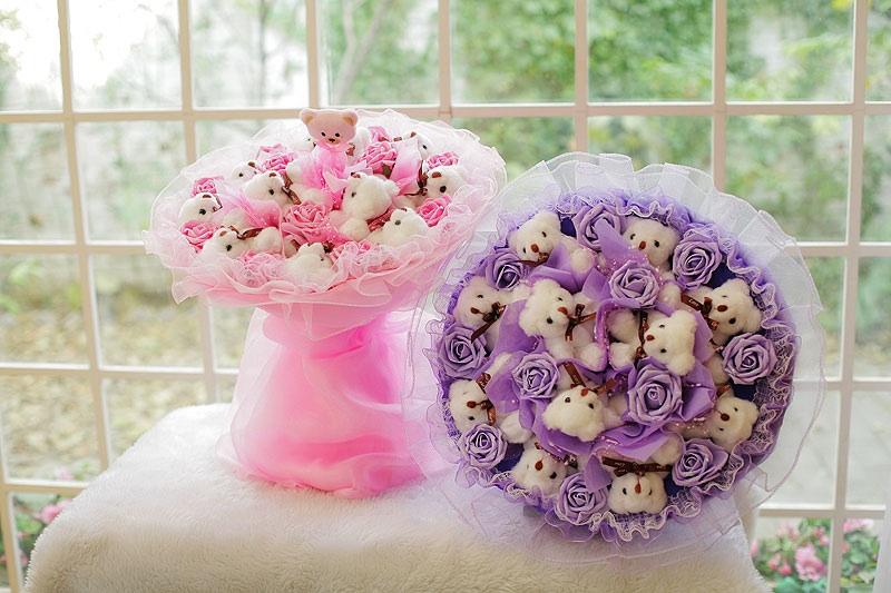 Как сделать цветы из игрушек своими руками