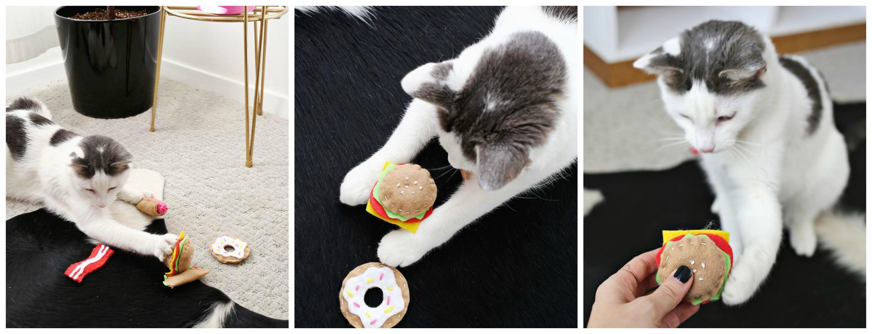 Игрушки для котов и кошек своими руками 71
