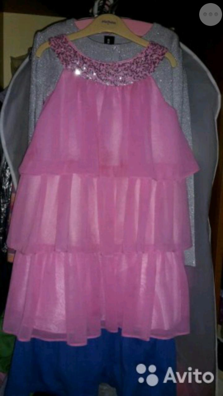 Нарядные платья 122-128