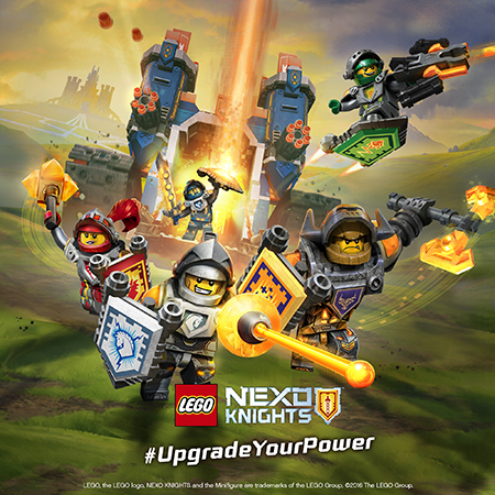 Вступайте в Академию рыцарей LEGO NEXO KNIGHTS