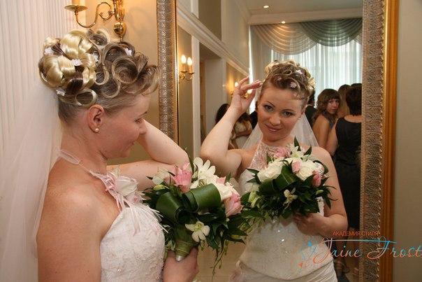 евгения свадебные прически