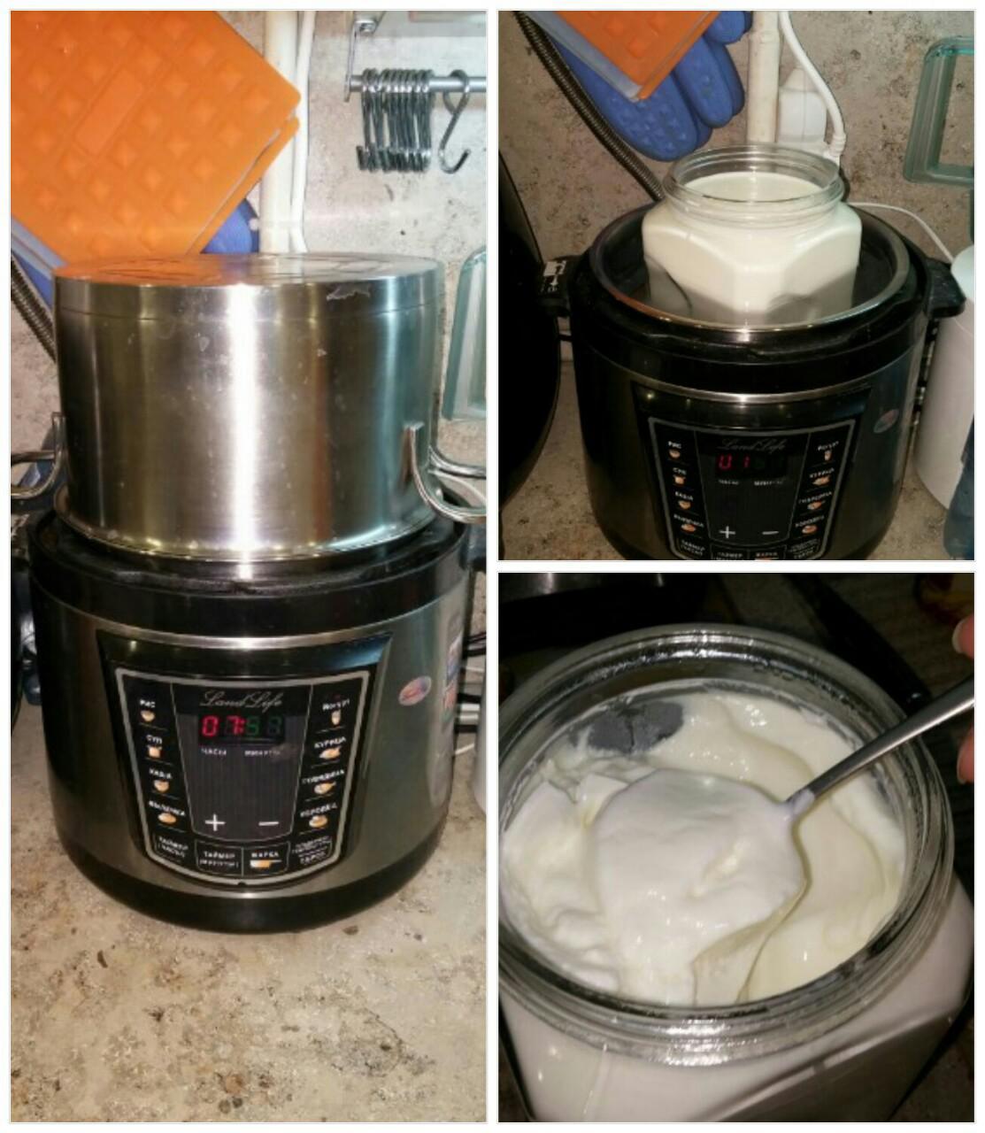 Приготовление йогурта нетрадиционным способом (термос, духовка, мультиварка etc)