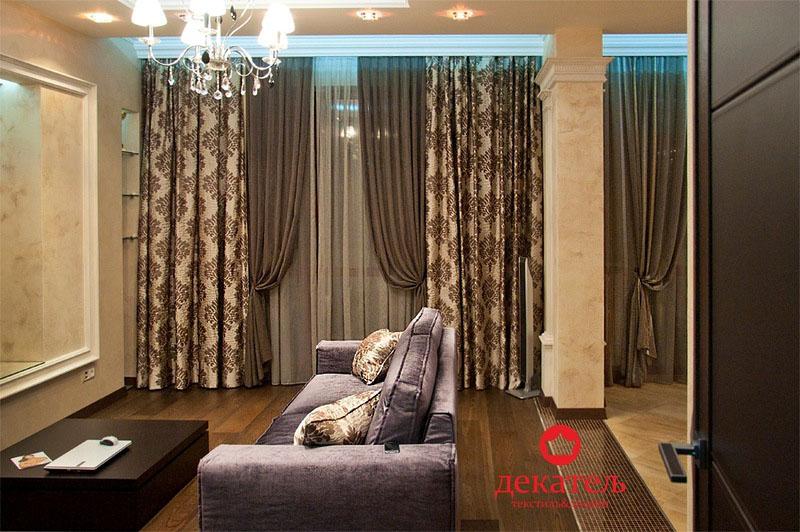 шторы для гостиной фото новинки 2