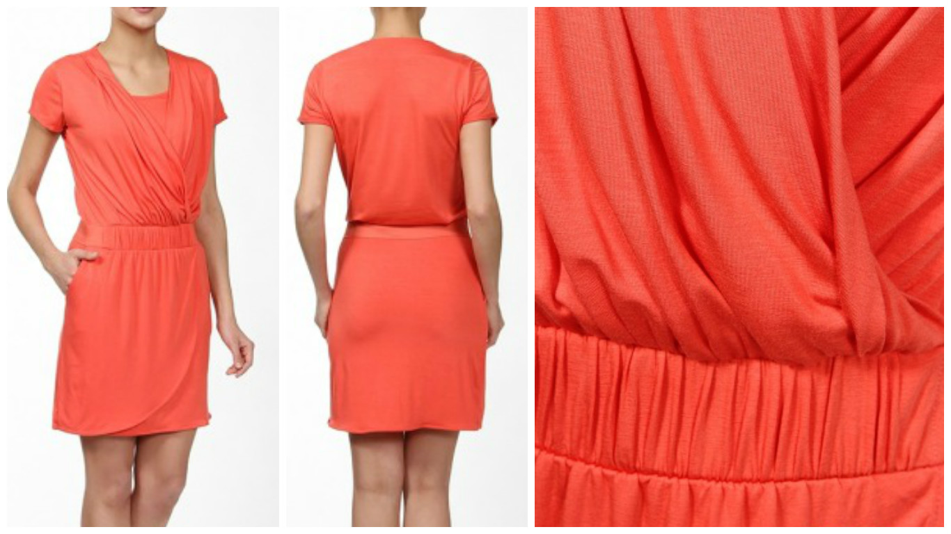Новое оранжевое платье Mexx р. М. ПРИСТРОЙ СП и новое