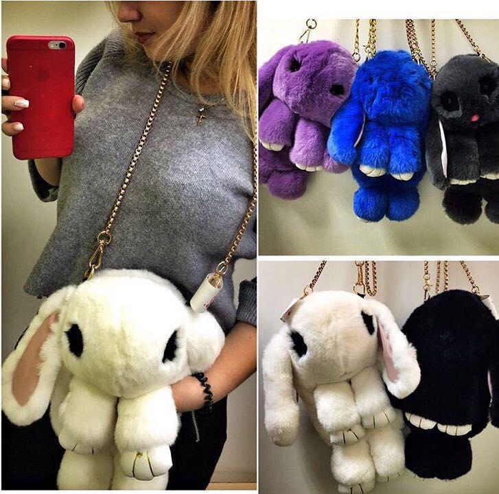Брелок кролик на рюкзаки своими руками 29