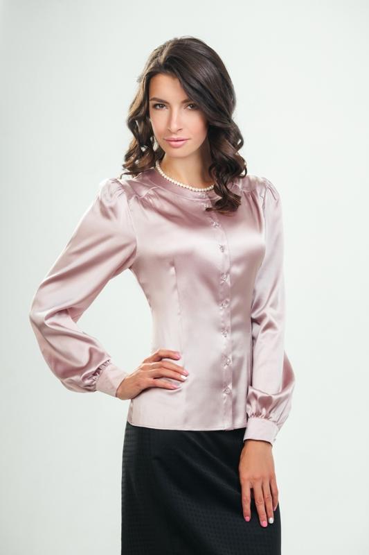 Блузки И Рубашки Из Натурального Шелка Купить