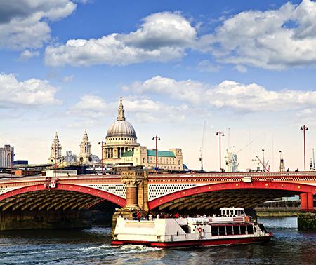 Лондон на День всех влюбленных