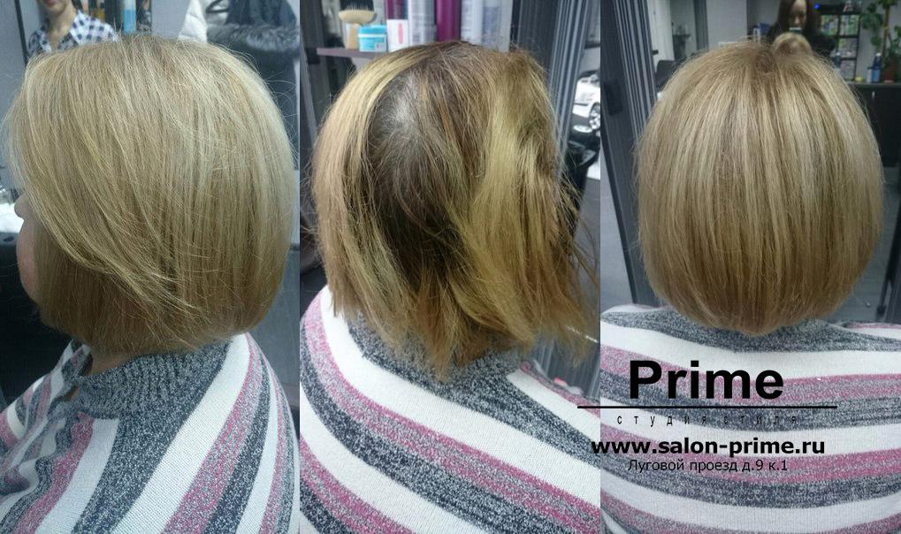 Мелирование тонирование на короткие волосы фото