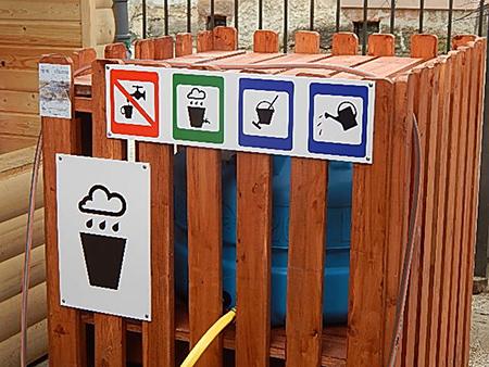 Школьный проект по рациональному использованию дождевой воды